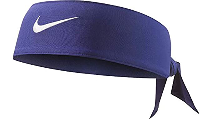 56830395486e Amazon.com  Nike Dri Fit Head Tie Black  Sports   Outdoors