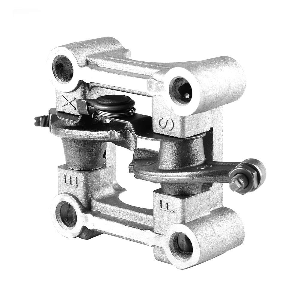 Acouto Rocker Arm Holder Assembly,Rocker Arm Cam Shaft Holder Bracket Assembly for GY6 125cc 150cc 152QMI 157QMJ Engine