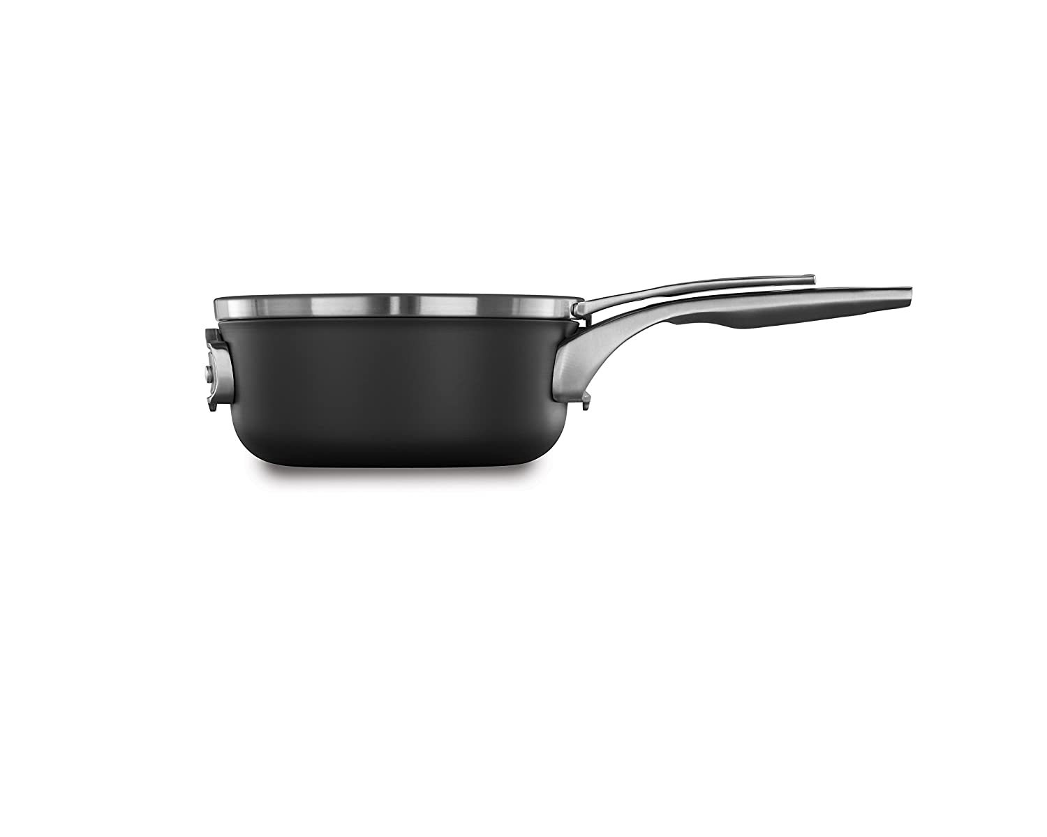 Calphalon Premier Space Saving Nonstick 2.5qt Sauce Pan with Cover