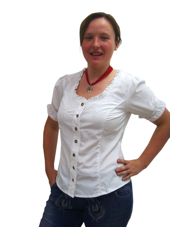 Damen weiße Trachtenbluse Egave von Spieth & Wensky
