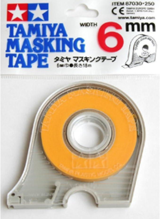 Modeling Masking Tape 6mm Wide 18m Long Adhesive Sharp Crisp Lines Tamiya