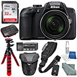 Nikon COOLPIX B700 Digital Camera and Deluxe Accessory Bundle w/32GB + Camera Case + Xpix Water-Resistant SD Card Case + Cleaning Accessories + More