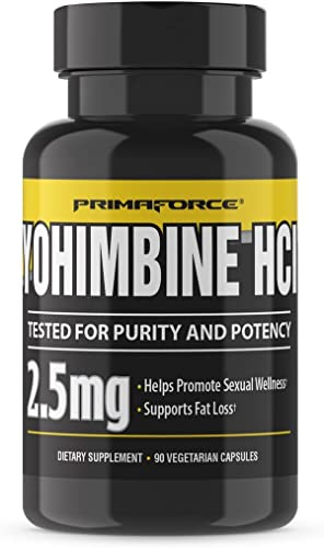 PrimaForce Yohimbine Supplement, 270 Count Pack of 3