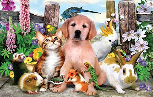 Good Companions 100 pc Jigsaw Puzzle by SunsOut