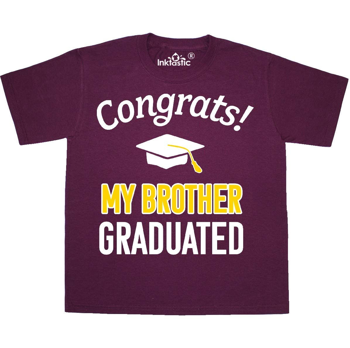 Congrats My Brother Graduated With Cap T Shirt 35dcd 6338