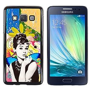 LECELL--Funda protectora / Cubierta / Piel For Samsung Galaxy A3 SM-A300 -- Photo Actress Star Hollywood 60'S --