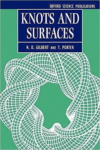 Knots And Surfaces por T. Porter epub