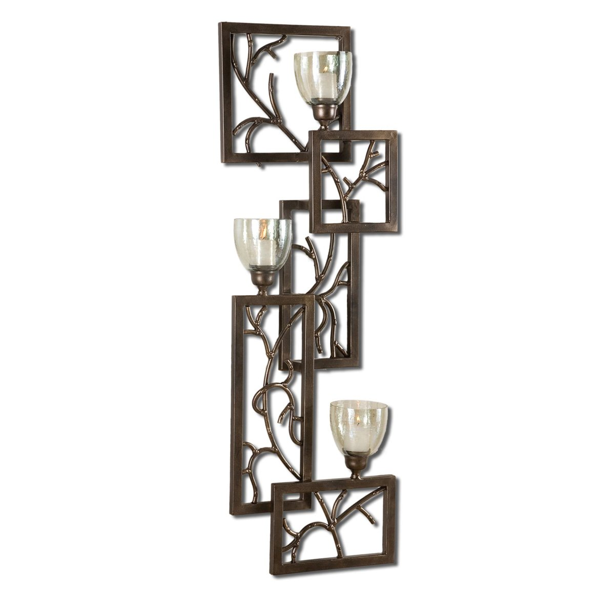 Iron Branches Wall Sconce by Black Forest Decor