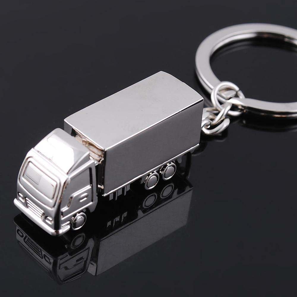 Sanwood Schlüsselring Aus Metall Mit Lkw Schlüsselanhänger Koffer Rucksäcke Taschen