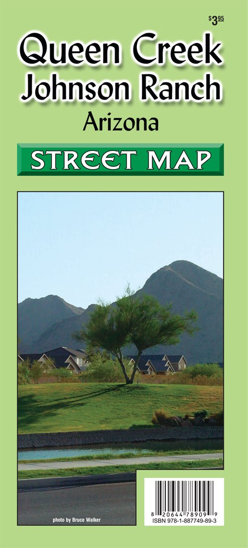 Map Of Arizona Showing Queen Creek.Queen Creek Johnson Ranch Arizona Street Map Phoenix