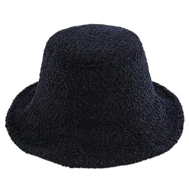 Lumanuby. Gorra de Moda Sombrero de Sol Gorro de Fieltro Sombrero ...