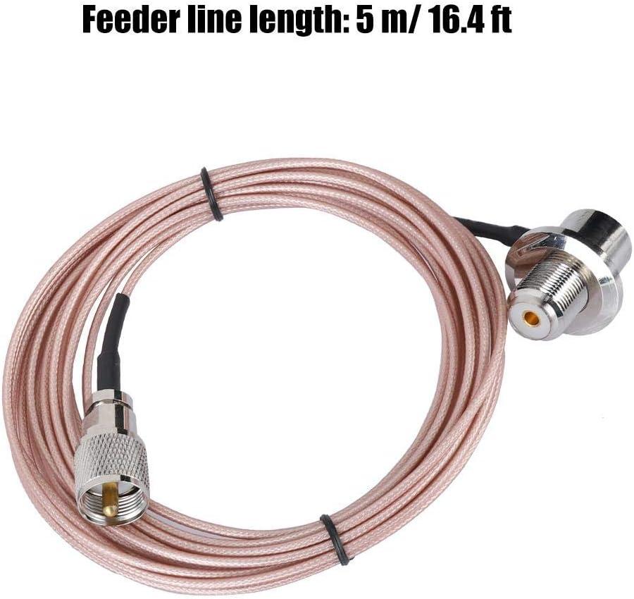 Cable de extensión, Radio de Coche Alimentador de 5M Antena ...