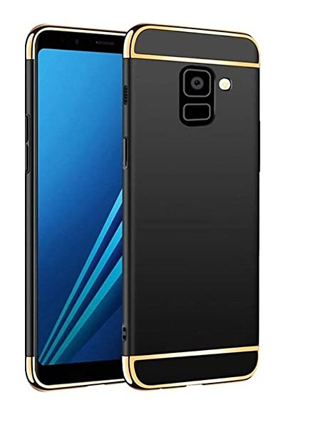big sale dd717 42db9 COVERNEW 3 in 1 Back Cover for Samsung Galaxy J6: Amazon.in: Electronics