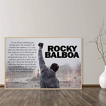Rjjwai Rocky Balboa Boxeo Culturismo Imprimir Posters