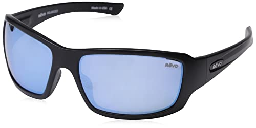 0b635f2e94 Revo RE4057-01BL RE4057 Bearing Matte Black - Blue Water Polarized  Sunglasses