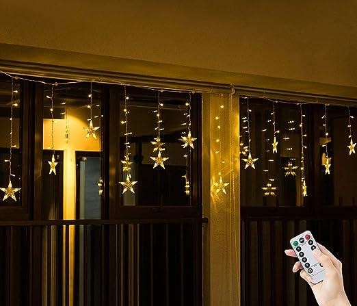 05699bb603d Salcar Cadena de Luces LED de Colores 2   1 Metros