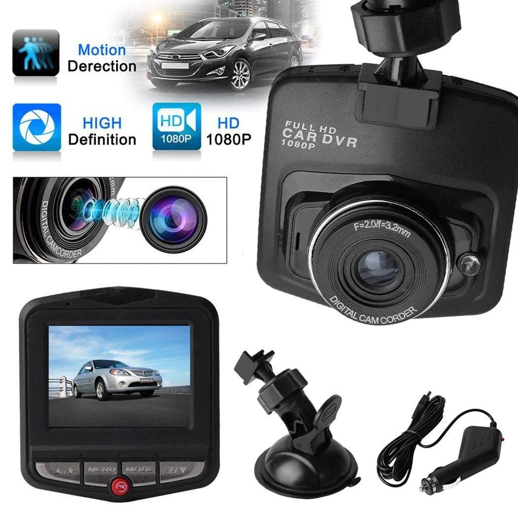 dozenla Mini Dash Camera, 2.4'' Car DVR Camera Dashcam Full HD1080P Car Driving Video Recorder G-Sensor Night Vision Camera by dozenla