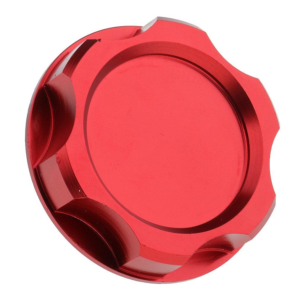 Dovewill Aluminium Filler Cover Screw-in Engine Oil Filler Cap for Honda Fit EK Civic EG - Red