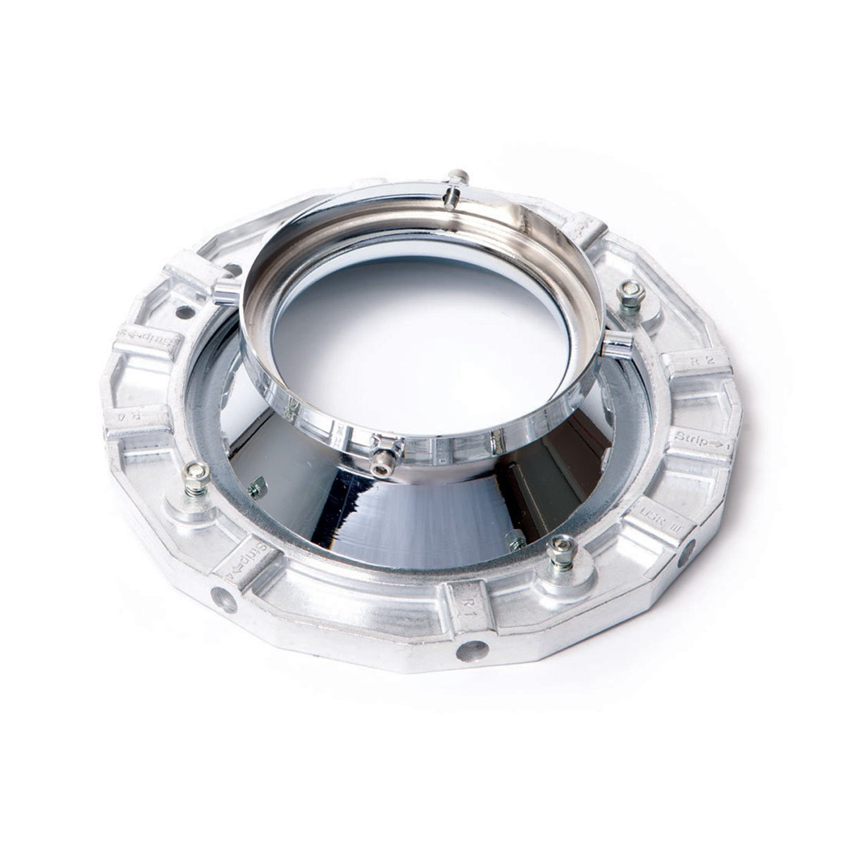 Westcott 3503 Adapter Ring for Norman LH - 500, 500B, 500 PLUS, 500B PLUS, 2000, 2400, 2400B, 4000, Norlite Monostrobe Series (Black) by Westcott
