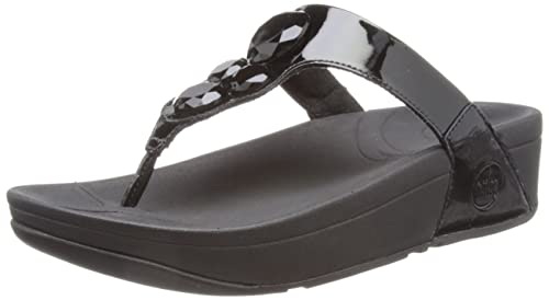 FITFLOP Glamoritz Toe-Thong Sandals amazon-shoes neri Estate Footlocker Fotos Precio Barato Tienda De Espacio Libre Para La Venta Uk5ds5k