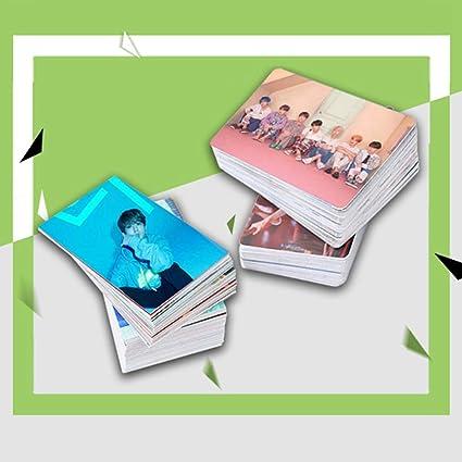 Upain 10 Pezzi Kpop ATEEZ Album Treasure EP.FIN per confezione All to Action Post Card Self Made LOMO Card Photocard Fan Regalo 1 unit