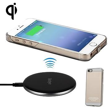 Antye Qi - Cargador inalámbrico para iPhone 5, 5S, 5SE ...