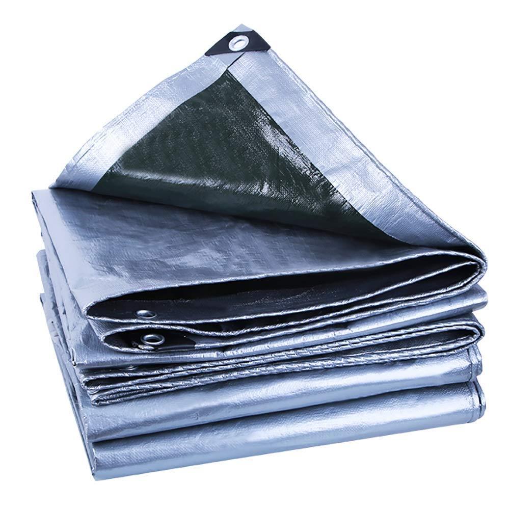 Waterproof Cloth Home Außenzelt Plane Zelt gemeinsame Markise Sonnencreme Sonnenschirm Dicke Leinwand Wasserdichte Plane (Farbe   A, Größe   6×10m)