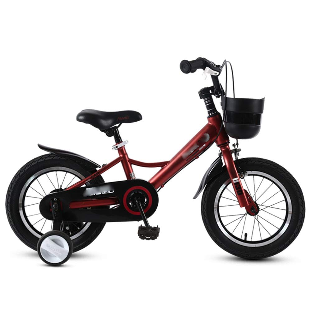 LJJL 足自転車少年少女自転車3-5-6-7-10歳子供自転車14/16/18インチ3色 子ども用自転車 (色 : A, サイズ さいず : 18inch) 18inch A B07RTT2GG9