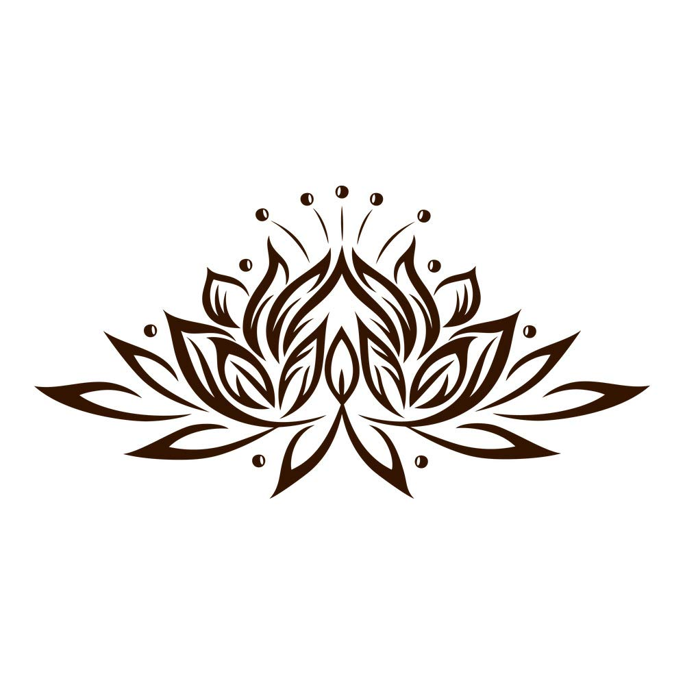 Azutura Lotus Lotus Lotus Blaume Wandtattoo Blaumen Wand Sticker Buddhismus Wohnkultur verfügbar in 5 Größen und 25 Farben Mittel Weiß B00DODQS38 Wandtattoos & Wandbilder 966ace