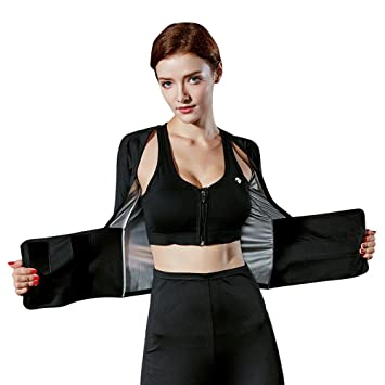 Guoyajf Traje De Sauna Running Yoga Clothes Mujeres Fitness ...