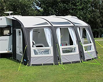 great quality coupon code get new Kampa Rally Ace Air 400 Grand auvent gonflable pour caravane ...