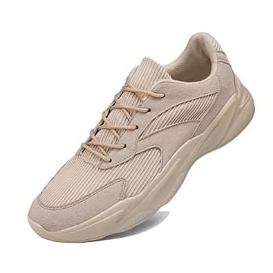 e62f242eb1 Homme Chaussure Multisport Outdoor pour Courir Marcher Jogging Running  Sneaker Chaussure Basket Mode de Textile Respirant