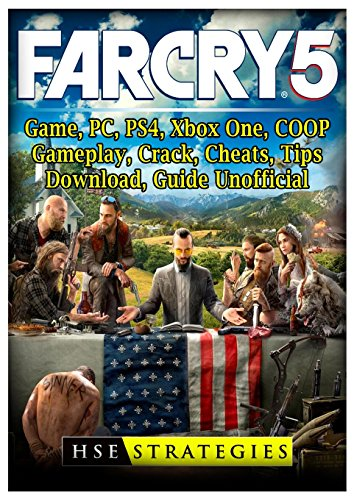 Price comparison product image Far Cry 5 Game, Pc, Ps4, Xbox One, Coop, Gameplay, Crack, Cheats, Tips, Download, Guide Unofficial