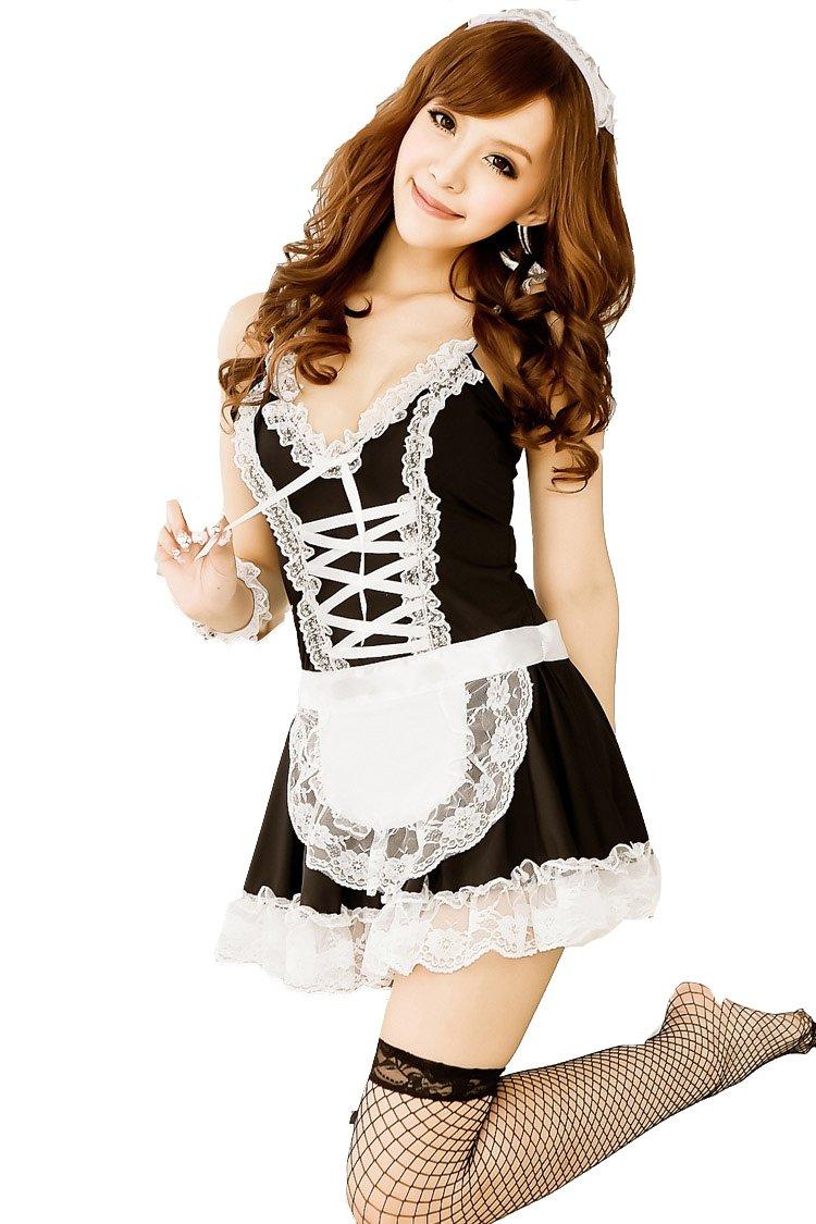Amazon.com: Negro lencería Sexy de alta calidad blanco ...