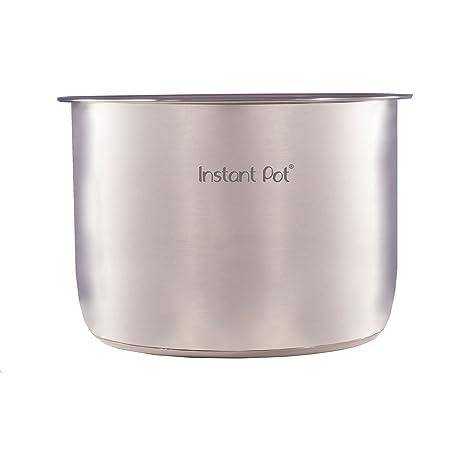 Instant Pot 8L / 25cm Acero Inoxidable Olla Interior con 3 capas de fondo