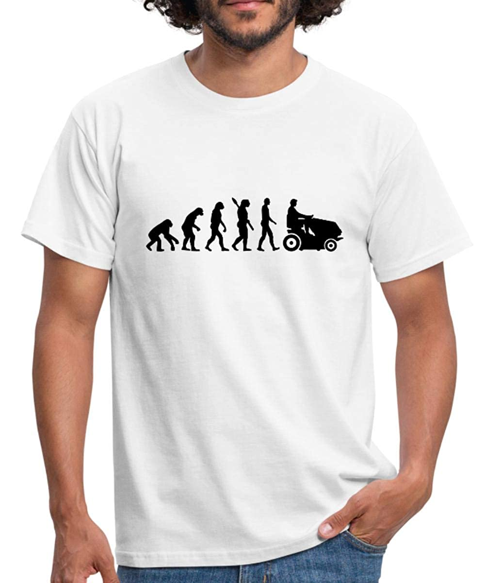 Cortapelos Evolution du Monge Au Jardinier - Camiseta para ...