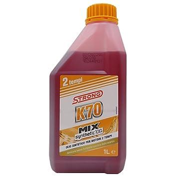 MIX ACEITE K70 SYNTHETIC 2T 1LT 100%: Amazon.es: Bricolaje y ...