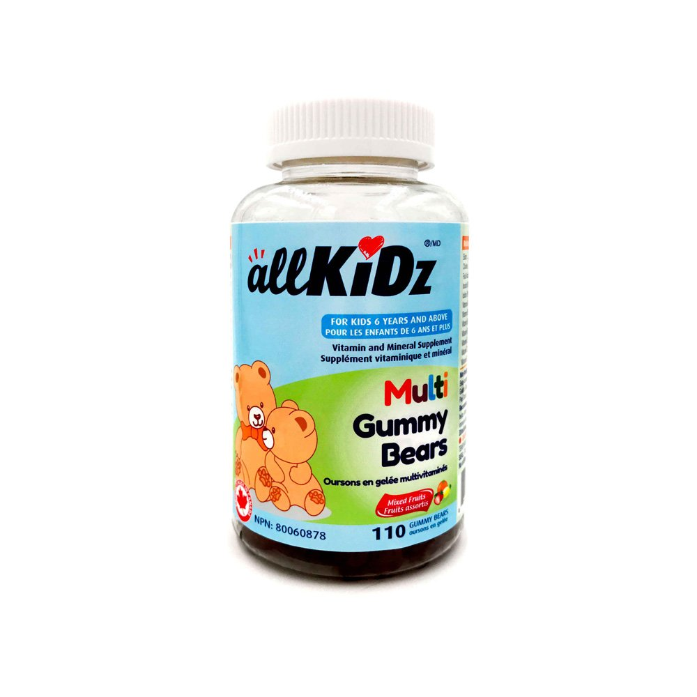 allKiDz® Multi Gummy Bears multivitamin for kids children (110)