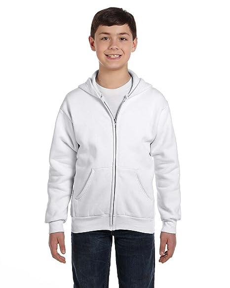 9de5e849b Hanes Comfortblend® EcoSmart® Full-Zip Kids' Hoodie Sweatshirt