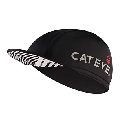 bc0e04f2c20 Amazon.com  CATEYE Cycling Cap Black for Men Helmet Liner Hat for Cycling   Sports   Outdoors