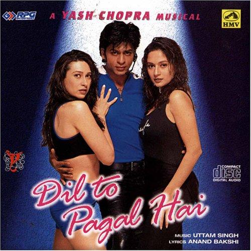 Dil To Pagal Hai (Hindi Music / Bollywood Songs / Film Soundtrack /  Shahrukh Khan / Madhuri Dixit/Asha Bhosale/Udit Narayan/Lata Mangeshkar/  Uttam ...