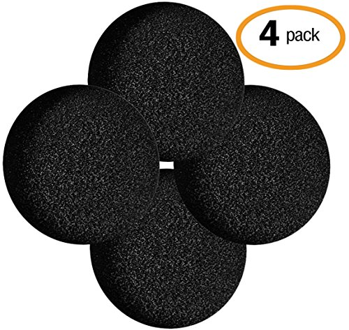 Pail Filters Compost - Universal Replacement Kitchen Compost Filters | 4 Pack | Designed for Bins/Pails | Extra Thick and Absorbent | Made with Activated Carbon | Freshens Air and Traps Odors (UpGood Refill Set,Small)