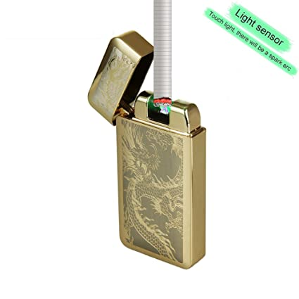 Fotoeléctrico sensores Mechero, sun-lighter ® Eléctrico Doble arco ...