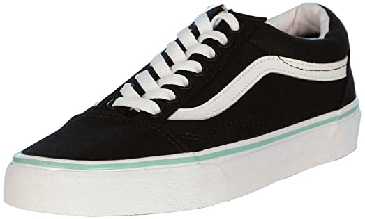 Old Skool Canvas Black/Florida Keys Unisex Adult Sneakers (3.5 Mens/5 Womens)