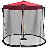 Lana45 Enjoy Outdoor Need 9/10FT Outdoor Umbrella Table Screen Mosquito Bug Insect Net Mesh Garden