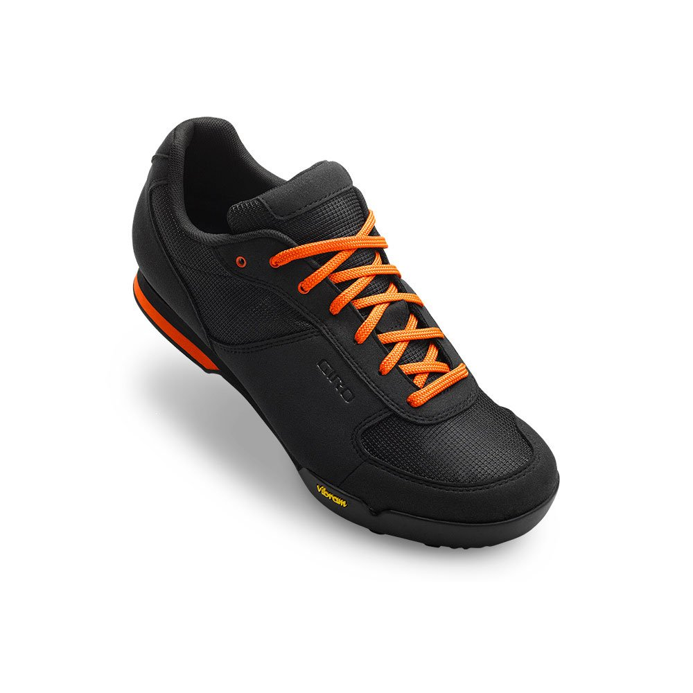 Giro Rumble Vr MTB Shoes Black/Glowing Red 44
