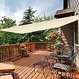 iCOVER Sun Shade Sail Canopy, 185GSM Fabric