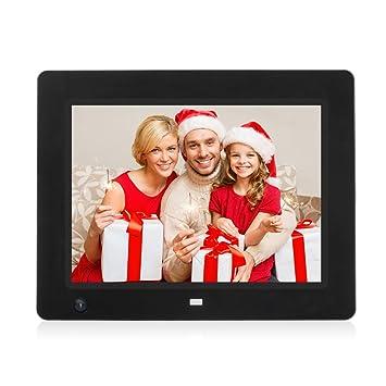 WeCool 8 pulgadas marco de alta resolución de fotos digital con USB del sensor de movimiento
