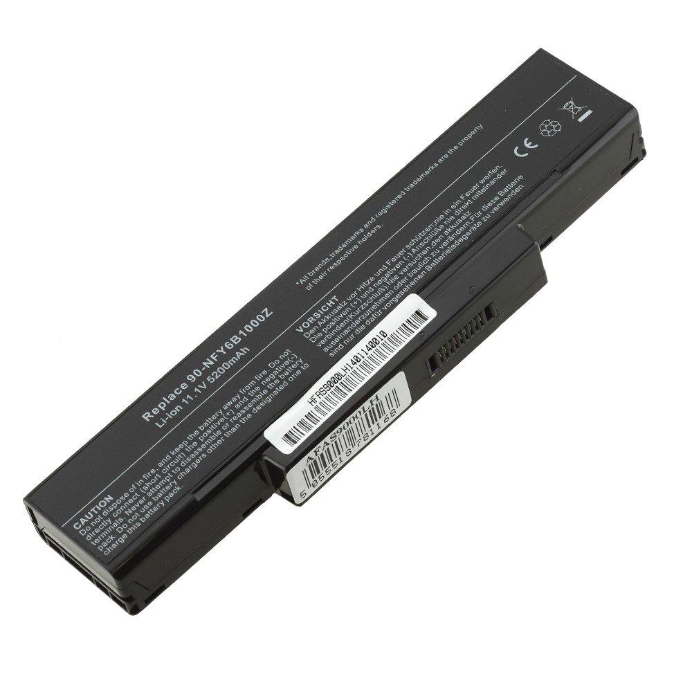 Batería sustituye 5200 mAh 10,8 nk3bb1000z, V para Portátil Asus 70 nj01b2000, 70-nj01b2000, 70 nk3bb1000z, 10,8 70-nk3bb1000z, 70 nk3bb1200z, 70-nk3bb1200z, 70 nk3bb1300z, 70-nk3bb1300z, 70 nmf1b1100z, 70-NMF1B1100Z 50c379