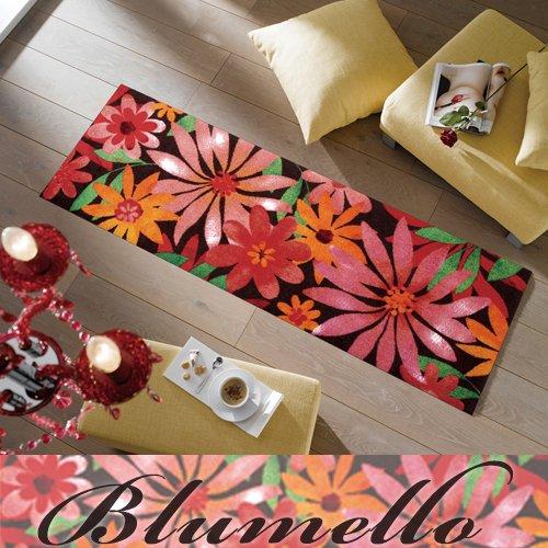 キッチンマット Blumello サイズ:60×180cm   B012ZML3RE
